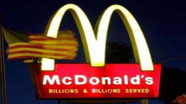 La chaîne américaine de fast-food McDonald's a continué de perdre du terrain aux Etats-Unis, son premier marché, en février.