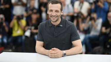 Mathieu Kassovitz à Cannes en 2017