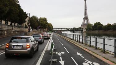 Selon l'étude de l'institut ORB, 63% des Européens disposent d'une voiture. Les Parisiens ne sont plus que 53% à en avoir une.