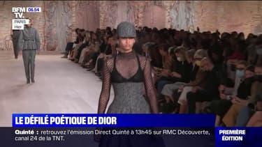 Dior a présenté sa collection automne-hiver lundi, un des premiers défilés en présentiels depuis des mois
