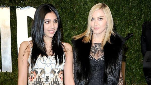 Madonna et sa fille Lourdes à Los Angeles en 2011