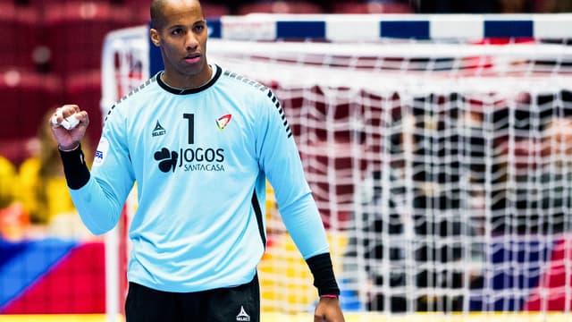 Alfredo Quintana pendant les derniers mondiaux de handball en Egypte au mois de janvier dernier