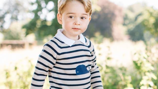 Le prince George en juillet 2016