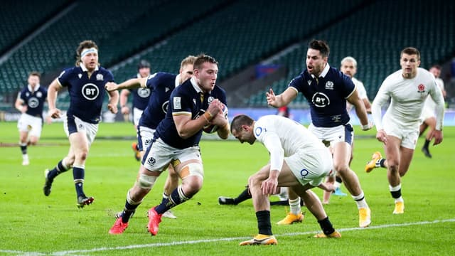 Matt Fagerson et l'Ecosse s'offrent l'Angleterre