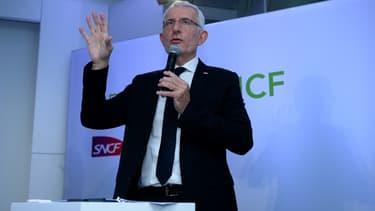 Guillaume Pepy s'est ému du coût de la grève pour la SNCF.