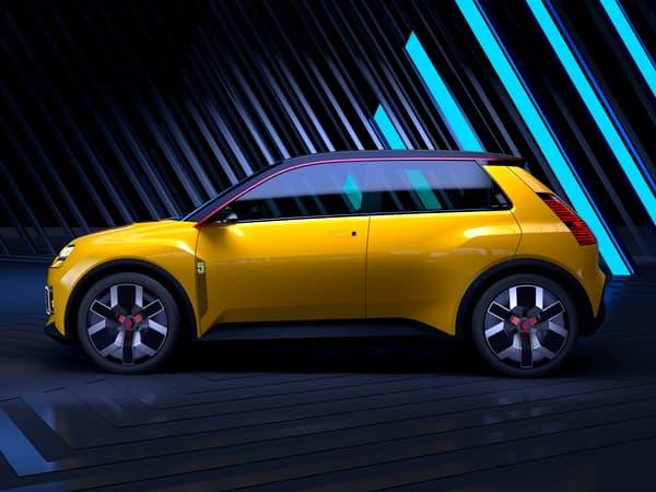 La Renault 5Prototype de profil