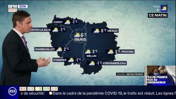 Quelques nuages ce samedi matin mais une aprèsmidi très ensoleillée en perspective jusquà 17C à Paris (2).jpg