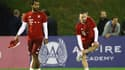 Mehdi Benatia et Franck Ribéry