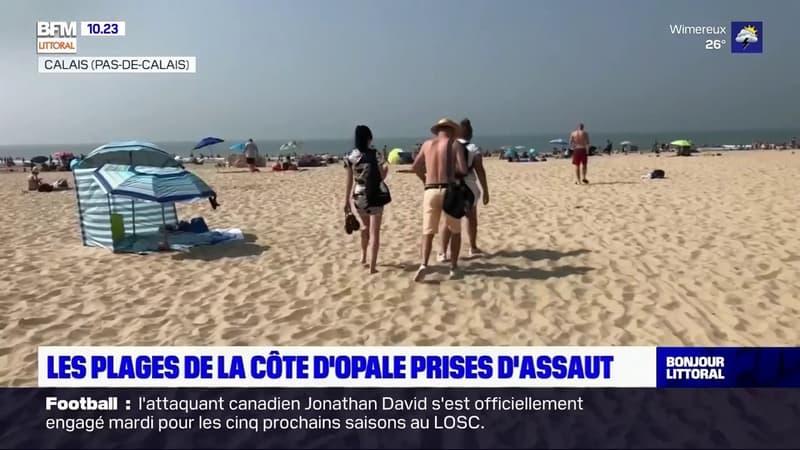 Les plages de la Côte d'Opale prises d'assaut