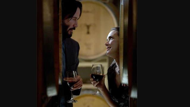 Keanu Reeves et Winona Ryder