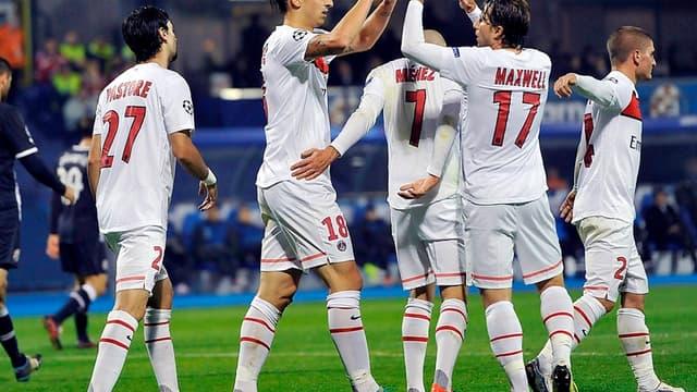Maxwell félicite Zlatan Ibrahimovic