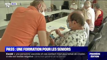 """Pass sanitaire: la ville de Nice propose une formation """"TousAntiCovid"""" pour les seniors"""