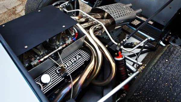 A voiture de légende, moteur de légende.
