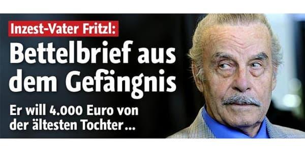 Josef Fritzel a été condamné à la prison à vie pour esclavage et meurtre d'un des enfants, nouveau-né.