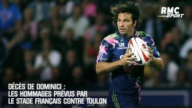 Décès de Dominici : Les hommages prévus par le Stade Français contre Toulon
