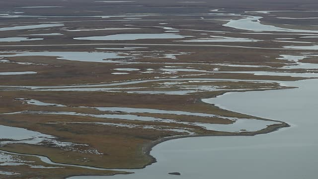 Paysage d'Alaska. (Photo d'illustration)