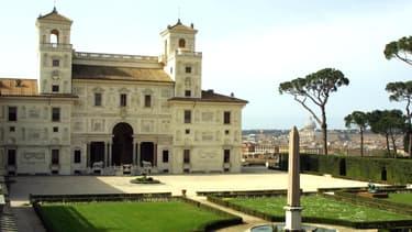 La Villa Medicis, à Rome