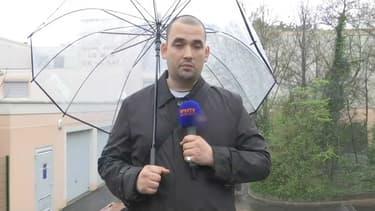 Sébastien Lopez, le père d'une victime présumée du directeur d'école.