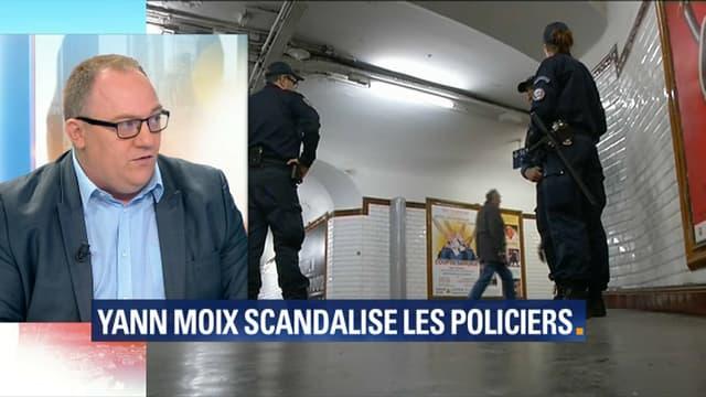 Le secrétaire national du syndicat Alliance Police nationale, le 14 septembre 2018 sur BFMTV.