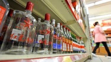 La baijiu, le célèbre alcool chinois