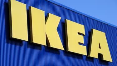 Une enseigne Ikea (Illustration)