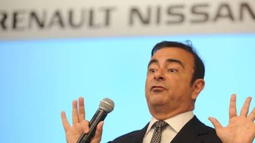Le PDG de l'alliance Renault-Nissan, Carlos Ghosn, en juillet dernier.