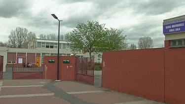 L'école élémentaire Emile Zola à Sevran