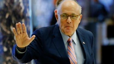 Rudy Giuliani, le 9 décembre 2016.