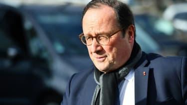 L'ancien président François Hollande, le 11 février 2020 à Paris