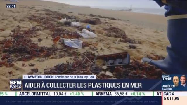 """""""I Clean My Sea"""" collecte les plastiques en mer"""