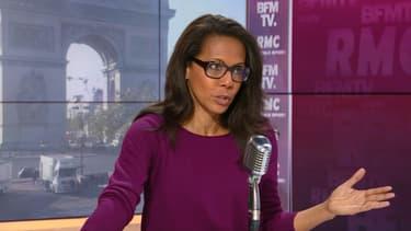 Audrey Pulvar, candidate soutenue par le Parti socialiste aux élections régionales en Île-de-France.