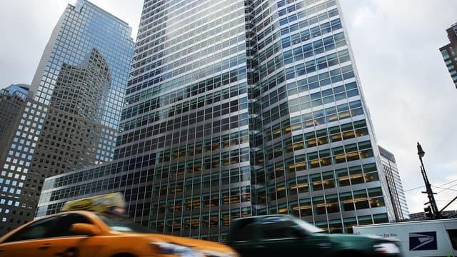 Le siège de Goldman Sachs a New York. La banque prévoit un retour en force des Hedge Funds cette année.