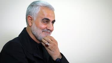 Le général iranien Qassem Soleimani, le 1er octobre 2019 à Téhéran.
