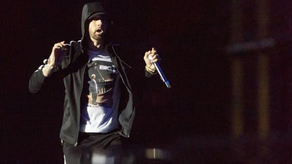 Eminem en concert en juillet 2018