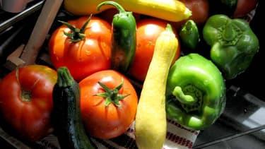 Fruits et légumes de saison en juillet. (photo d'illustration)