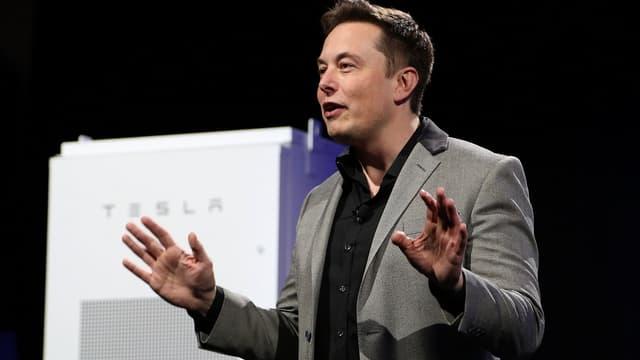 Elon Musk, PDG de Tesla