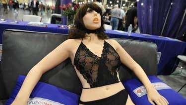 Un robot Roxxxy présenté à Las Vegas en 2010