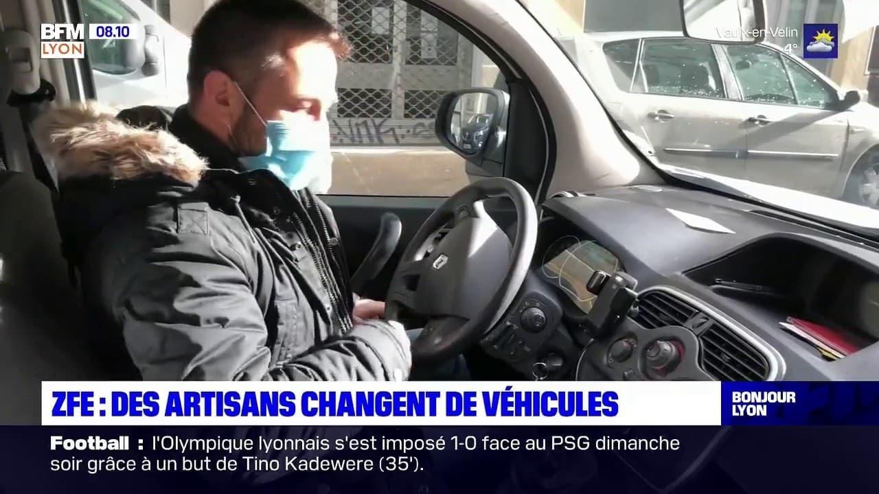 Zfe Les Artisans Changent De Voitures Avant L Interdiction Des Vehicules Polluants
