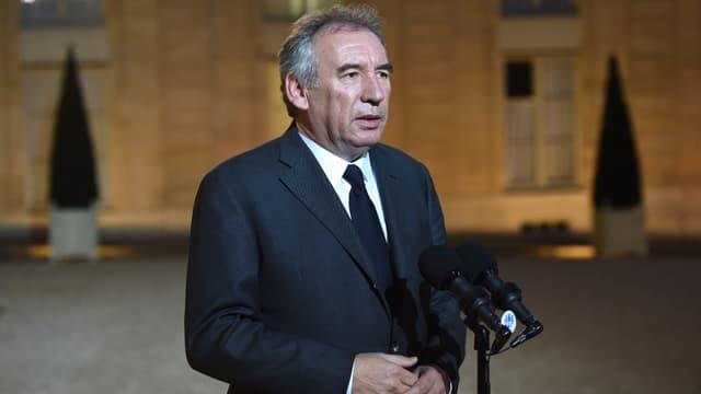 """Pour François Bayrou, l'alourdissement de la taxation des CDD est une """"hérésie""""."""