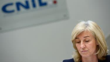 La présidente de la CNIL, Isabelle Falque-Pierrotin.