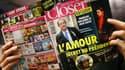 La couverture du magazine Closer par laquelle le scandale est arrivé.