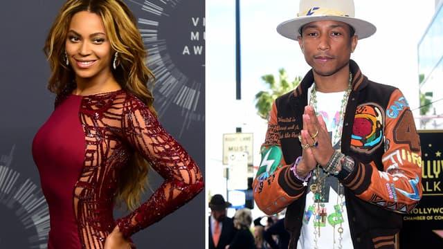 Beyoncé et Pharell Williams ont été nominés six fois aux Grammy Awards 2015