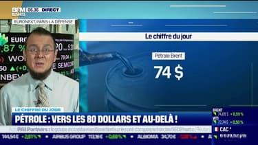 Les prix du pétrole filent vers les 80 dollars
