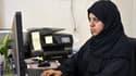 Nassima al-Sadah, candidate à Qatif, dans l'est saoudien, le 26 novembre 2015.