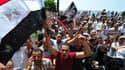 Des manifestants pro-Morsi, le 16 août.
