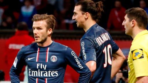 David Beckham, ici sous le maillot du PSG, est le footballeur le mieux payé au monde