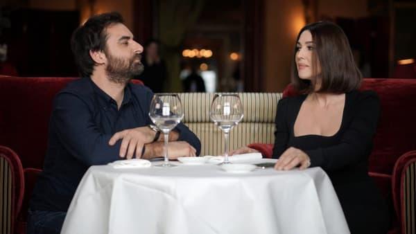 """Gregory Montel et Monica Bellucci dans la saison 3 de """"Dix pour cent"""""""