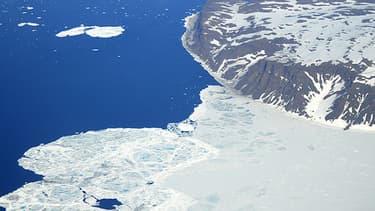 Cette année est celle du record de la fonte des glaces dans l'océan Arctique.