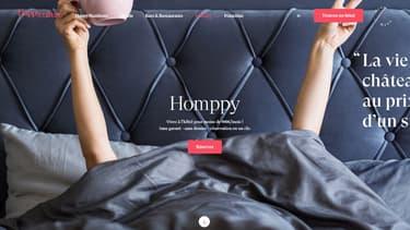 L'offre Homppy permet de louer au mois des chambres d'hôtel
