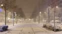 Grenoble sous la neige ce dimanche